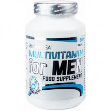 Витамины BioTech (USA) Multivitamin for Men 60таб